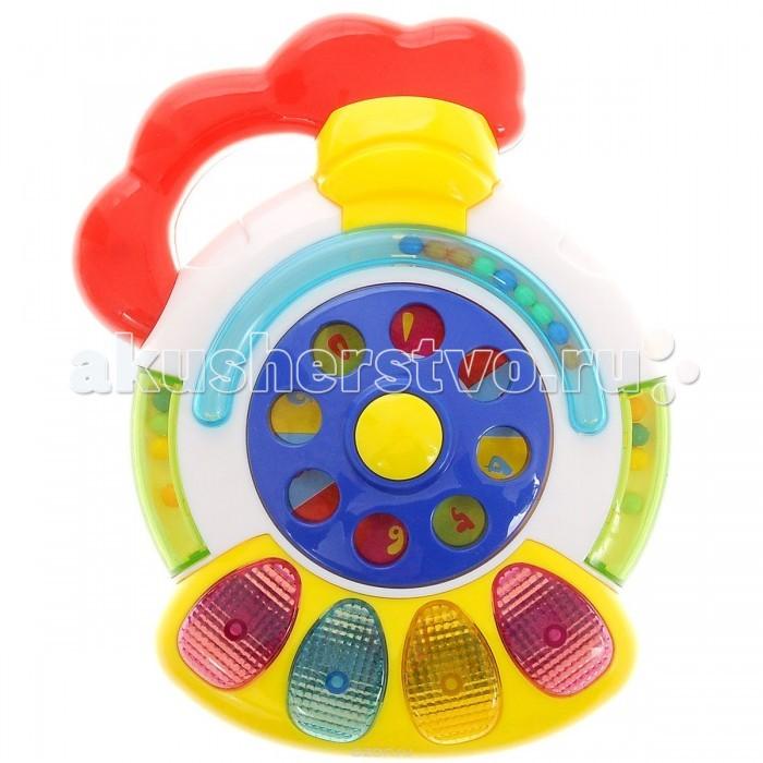 Музыкальная игрушка Zhorya Телефон Х75259Телефон Х75259Музыкальная игрушка Zhorya Телефон Х75259 - забавная яркая игрушка, которая развивает у малыша звуковое и цветовое восприятие, а также моторику рук. Аппарат оснащен звуковыми и световыми эффектами. при этом озвучка на русском языке.   Игрушка выгляди очень ярко и красочно и сможет стать прекрасным элементом декора детской комнаты.<br>