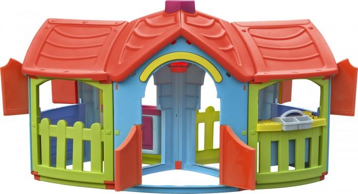 Игровой домик Palplay (Marian Plast) с двумя пристройками