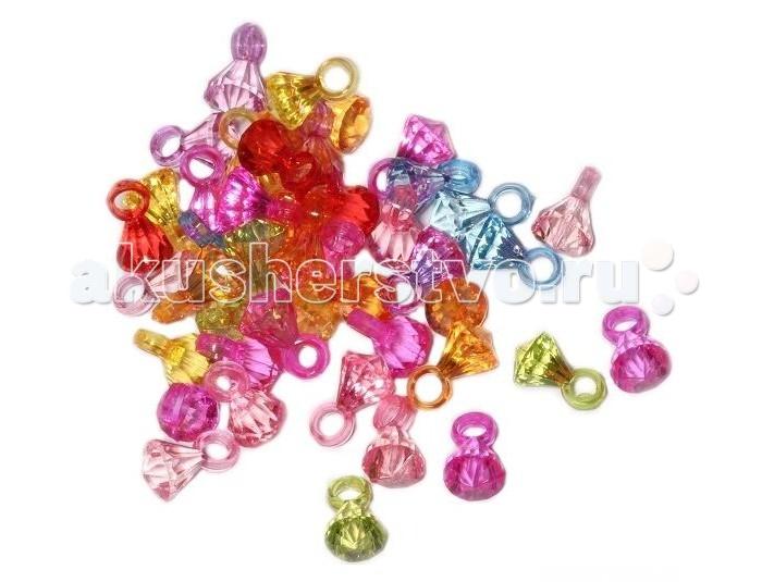 Molly Подвески для плетения браслетов Бриллианты 50 шт.