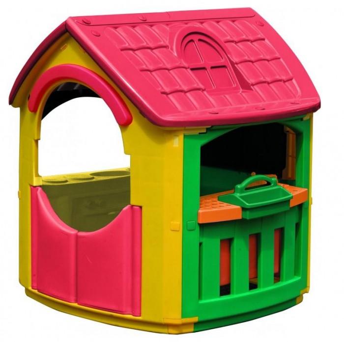 Игровой домик Palplay (Marian Plast) + гараж