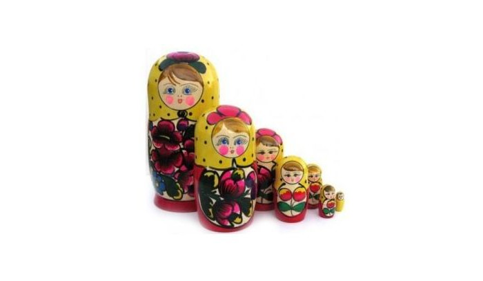 Деревянная игрушка Бэмби Матрешка 7 в 1 (расписная)Матрешка 7 в 1 (расписная)Матрешка 7 в 1 (расписная) - это набор традиционных ярких матрешек, изготовленных из качественного сырья.   Хорошо обработанные детали, яркие цвета будут приятны детям.   С помощью матрешки ребенок знакомится с основополагающими понятиями: большой- маленький, высокий - низкий, тоньше - толще. Игра с матрешкой развивает связную речь, фантазию, знакомит с навыками счета, сюжетной игры.<br>