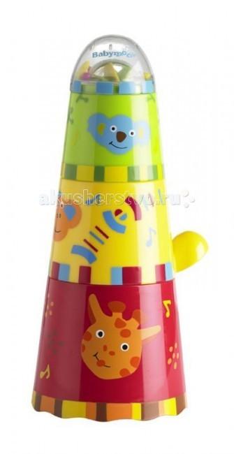 Babymoov Игрушка для купания ПирамидкаИгрушка для купания ПирамидкаПодходит для купания в ванной - помогает ребенку свыкнуться с водой.   Особенности: 4 стаканчика разного размера, из которых собирается пирамидка У каждого стаканчика своя особенность: погремушка, безопасное зеркало, вертушка, брызгалка Развивает зрение и мелкую моторику, логическое мышление Яркие контрастные цвета Возраст: от 1 года Материал: пластик Вес с упаковкой: 0.420 кг Габариты: 16x15x30 cm Объем: 0.007 куб.м.<br>