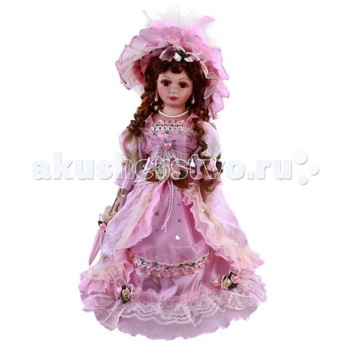 Angel Collection Кукла фарфоровая Камилла 16 40.6 см - Angel CollectionКукла фарфоровая Камилла 16 40.6 смКаждая кукла, выпущенная в серии Angel Collection, обладает неповторимым образом - принцессы, феи, маленькие девочки, роскошные невесты и т.д. Изысканные наряды и очаровательная матовость фарфора превращают этих кукол в настоящее произведение искусства.   Куклы сделаны из уникальной голубой глины.  Фарфоровая красавица - это не просто игрушка, а также украшение для интерьера или ценный экспонат коллекции.  Особенности куклы: мягконабивное тело, плечи и бедра руки, ноги, голова, шея и грудь выполнены из фарфора имеет подставку, которая скрывается в складках платья. Высота куклы: 40.6 см<br>