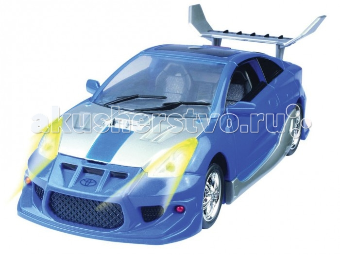 Happy Well Трансформер-машина Toyota Celica 1:18