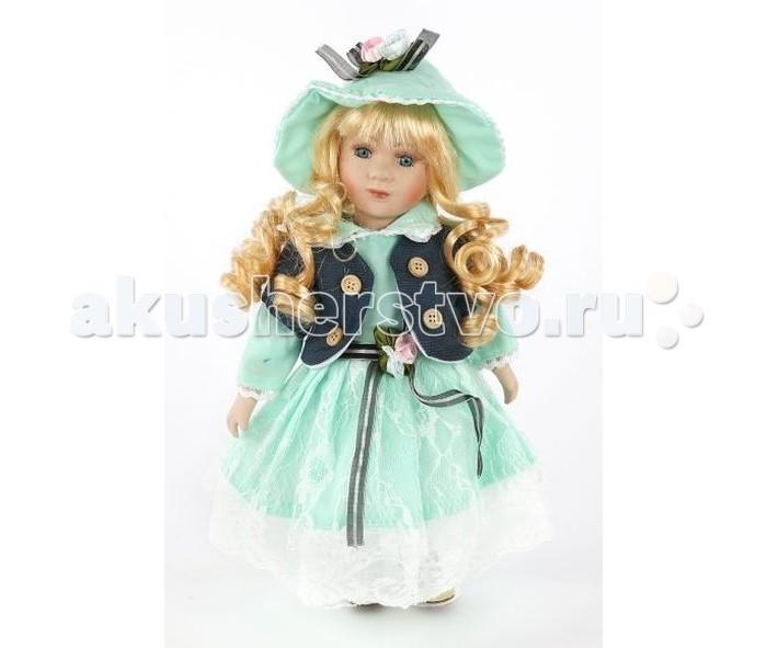 Angel Collection Кукла фарфоровая Джейн 12 30.5 смКукла фарфоровая Джейн 12 30.5 смКаждая кукла, выпущенная в серии Angel Collection, обладает неповторимым образом - принцессы, феи, маленькие девочки, роскошные невесты и т.д. Изысканные наряды и очаровательная матовость фарфора превращают этих кукол в настоящее произведение искусства.   Куклы сделаны из уникальной голубой глины, добываемой только в провинции Tai-Nan Shin, Тайвань.  Фарфоровая красавица - это не просто игрушка, а также украшение для интерьера или ценный экспонат коллекции.  Высота куклы: 30.5 см<br>