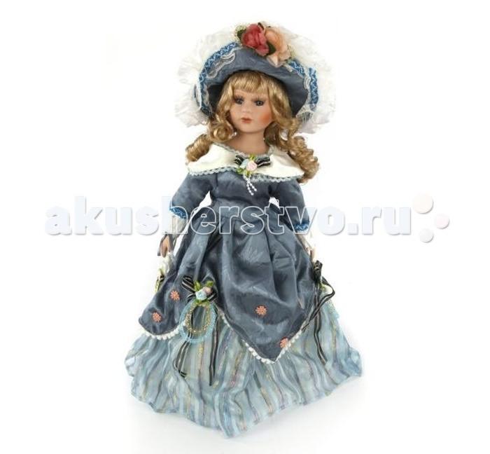 Angel Collection Кукла фарфоровая Доменика 16 40.6 смКукла фарфоровая Доменика 16 40.6 смКаждая кукла, выпущенная в серии Angel Collection, обладает неповторимым образом - принцессы, феи, маленькие девочки, роскошные невесты и т.д. Изысканные наряды и очаровательная матовость фарфора превращают этих кукол в настоящее произведение искусства.   Куклы сделаны из уникальной голубой глины, добываемой только в провинции Tai-Nan Shin, Тайвань.  Фарфоровая красавица - это не просто игрушка, а также украшение для интерьера или ценный экспонат коллекции.  Высота куклы: 40.6 см<br>
