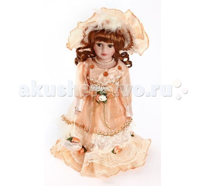 Angel Collection Кукла фарфоровая Кери 12