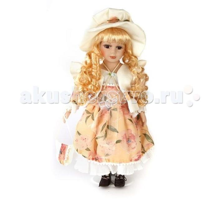 Angel Collection Кукла фарфоровая Эвелина 16 40.6 смКукла фарфоровая Эвелина 16 40.6 смКаждая кукла, выпущенная в серии Angel Collection, обладает неповторимым образом - принцессы, феи, маленькие девочки, роскошные невесты и т.д. Изысканные наряды и очаровательная матовость фарфора превращают этих кукол в настоящее произведение искусства.   Куклы сделаны из уникальной голубой глины.  Фарфоровая красавица - это не просто игрушка, а также украшение для интерьера или ценный экспонат коллекции.  Опорой для куклы служит специальная подставка.  Высота куклы: 40.6 см<br>
