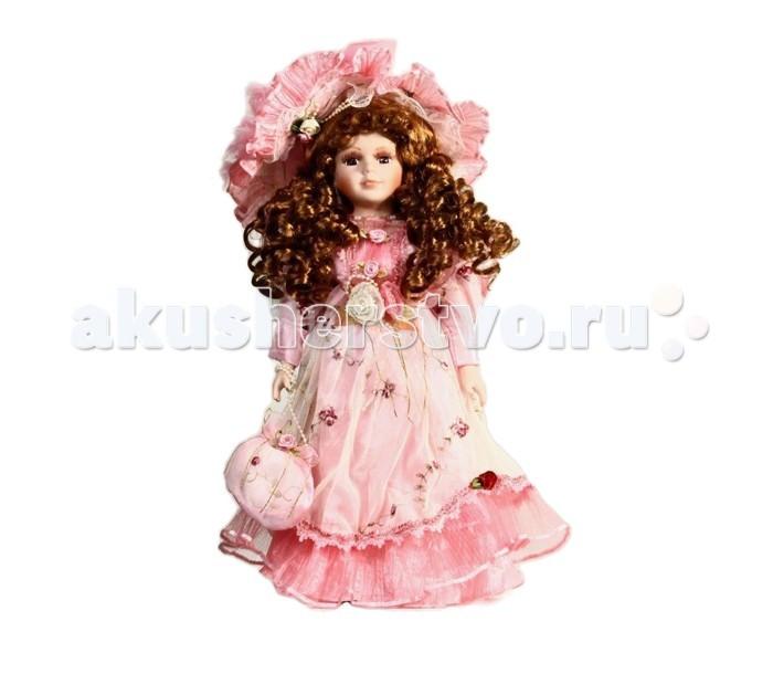 Angel Collection Кукла фарфоровая Миранда 16 40.6 смКукла фарфоровая Миранда 16 40.6 смКаждая кукла, выпущенная в серии Angel Collection, обладает неповторимым образом - принцессы, феи, маленькие девочки, роскошные невесты и т.д. Изысканные наряды и очаровательная матовость фарфора превращают этих кукол в настоящее произведение искусства.   Куклы сделаны из уникальной голубой глины.  Фарфоровая красавица - это не просто игрушка, а также украшение для интерьера или ценный экспонат коллекции.  Высота куклы: 40.6 см<br>