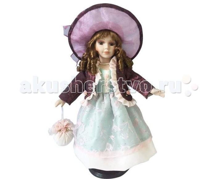 Angel Collection Кукла фарфоровая Соня 16 40.6 смКукла фарфоровая Соня 16 40.6 смКаждая кукла, выпущенная в серии Angel Collection, обладает неповторимым образом - принцессы, феи, маленькие девочки, роскошные невесты и т.д. Изысканные наряды и очаровательная матовость фарфора превращают этих кукол в настоящее произведение искусства.   Куклы сделаны из уникальной голубой глины.  Фарфоровая красавица - это не просто игрушка, а также украшение для интерьера или ценный экспонат коллекции.  Опорой для куклы служит специальная подставка.  Высота куклы: 40.6 см<br>