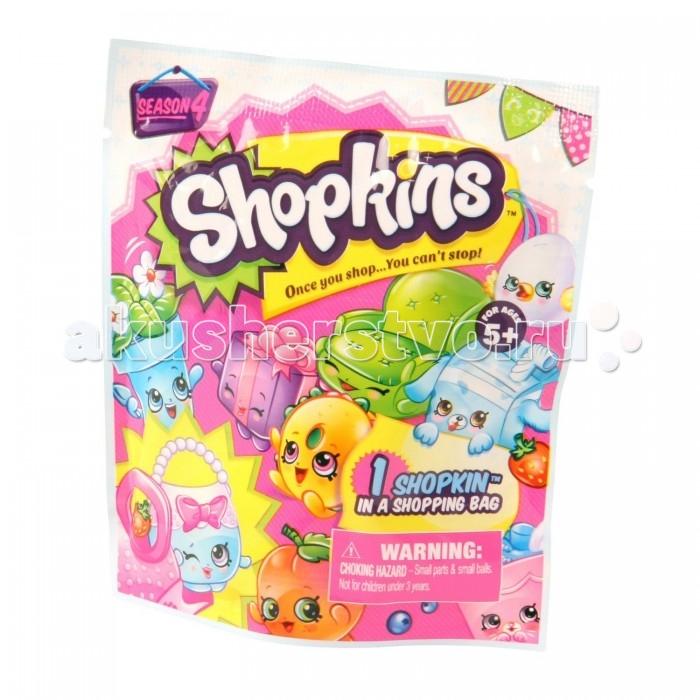 Shopkins Фольгированный пакетик с 1 героемФольгированный пакетик с 1 героемВ фольгированном пакетике с одним героем вас ждет персонаж из нового четвертого сезона Шопкинс.   Какой именно? Вы узнаете это, только когда откроете упаковку.   В новой линии Shopkins есть тринадцать команд героев: Фрукты и овощи (Fruit & Veg), Булочная (Bakery), Аксессуары (Accessories), Домашняя утварь (Homewares), Садоводство (Garden), Вечеринки (Party time), Петкинсы (Petkins), Зоомагазин (Pet Shop), Красота и здоровье (Health & Beauty), Мода (Fashion Spree), Обувь (Shoes), Гастрономия (Food Fair) и лимитированная серия Perfume Pretties, Гастрономия.   Вы сможете определить, кто именно вам попался, пользуясь руководством коллекционера.   В комплекте: руководство, 1 фигурка шопкинс, 1 сумочка для покупок.  Размер пакетика: 10.5 х 3.3 х 12.5 см.  Фигурки в ассортименте!<br>