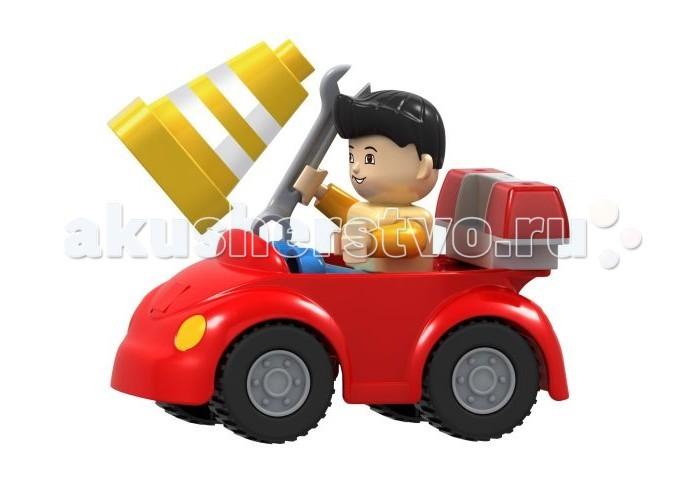 Конструктор Dr.Luck для маленьких Машинка дорожного рабочего (8 деталей)для маленьких Машинка дорожного рабочего (8 деталей)Конструктор Dr.Luck для маленьких Машинка дорожного рабочего (8 деталей) станет отличным решением для активных и любознательных малышей. Универсальная игрушка понравится всем без исключения.  Яркая собранная машинка в комплекте с фигуркой человечка, обязательно, приведет в восторг Вашего ребенка.<br>