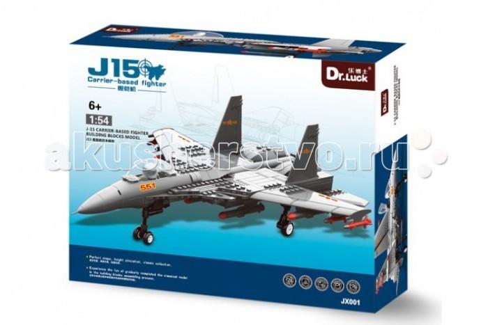 Конструктор Dr.Luck Масштабная модель Истребитель J15 (281 деталь)Масштабная модель Истребитель J15 (281 деталь)Конструктор Dr.Luck Масштабная модель Истребитель J15 (281 деталь) - палубный истребитель разработанный Shenyang Aircraft Corporation и 601 институтом. Изначально предполагалось, что он будет выполнен по стелс технологии, но позже выяснилось, что планер самолёта базируется на прототипе Су-33, с модернизацией китайским радаром и вооружением. Прототип Су-33 (опытный самолет Т10К советских времен) был куплен Китаем у Украины, и был основательно изучен. После запуска в серийное производство истребителей J-11, являющихся копиями российских Су-27, в конце 90-х представители Китая обращались к властям России по поводу покупки 50 истребителей Су-33, однако в ходе переговоров это количество было уменьшено до 2 самолетов, после чего российская сторона прекратила переговоры, посчитав подобную сделку утечкой технологий, как это уже было с самолетом J-11.<br>