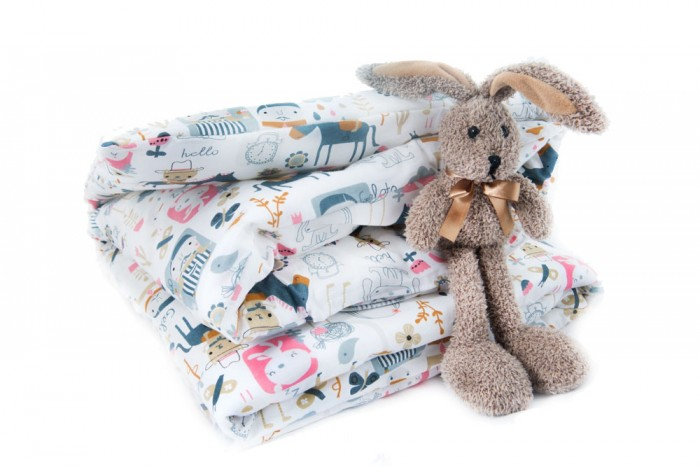 Одеяло Daisy Лошадки 110х140 см + пододеяльник