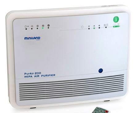Увлажнители и очистители воздуха Miniland Очиститель-ионизатор воздуха Baby PUR 89042