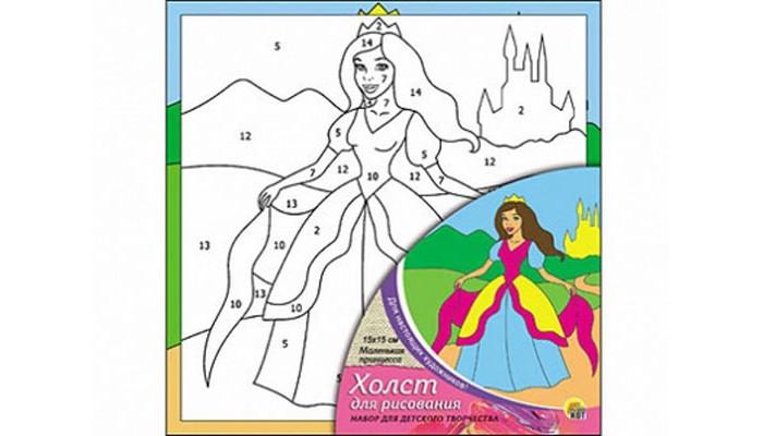Раскраска Рыжий кот Холст с красками по номерам Маленькая принцесса 15х15 смХолст с красками по номерам Маленькая принцесса 15х15 смРаскраска Рыжий кот Холст с красками по номерам Маленькая принцесса 15х15 см. Перед Вами замечательные наборы для создания уникального шедевра изобразительного искусства.   Создание картин на специально подготовленной рабочей поверхности – это уникальная техника, позволяющая делать Ваши шедевры более яркими и реалистичными. Просто нанесите мазки на уже готовый эскиз и оживите картину! Готовые изделия могут стать украшением интерьера или прекрасным подарком близким и друзьям.   В наборе: 1 холст с эскизом, 7 акриловых красок по 2 мл, 1 кисточка.<br>