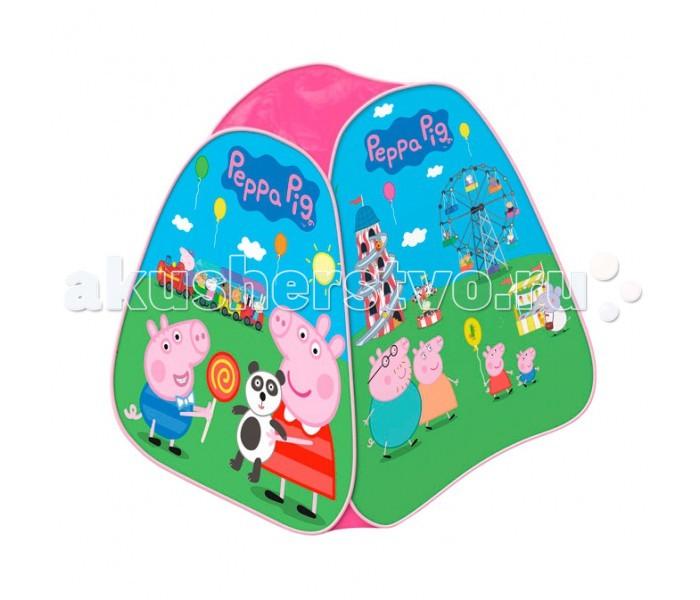 Peppa Pig Игровая палатка Пеппа в луна-парке