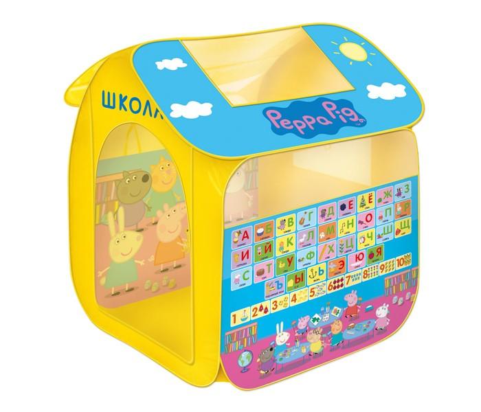 Peppa Pig Игровая палатка Учим азбуку с Пеппой