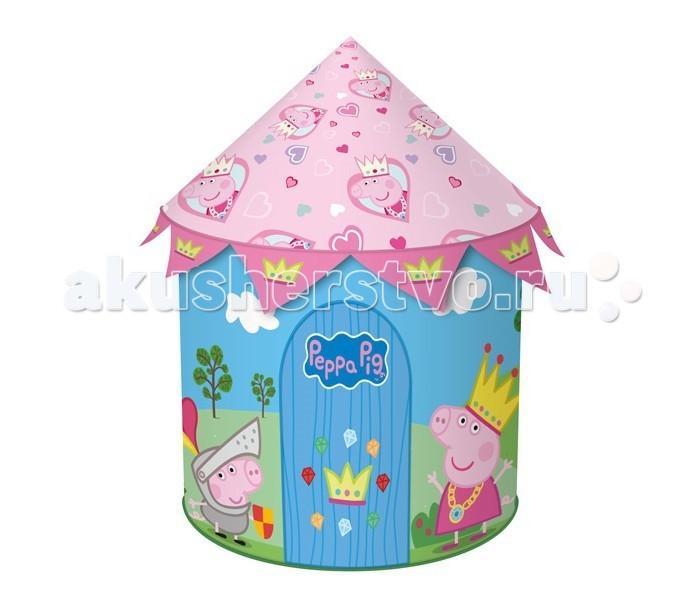 Peppa Pig Игровая палатка Волшебный замок Пеппы