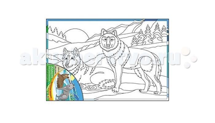Раскраска Рыжий кот Холст с красками Два волка 20х30 смХолст с красками Два волка 20х30 смРаскраска Рыжий кот Холст с красками Два волка 20х30 см. Перед Вами замечательные наборы для создания уникального шедевра изобразительного искусства.   Создание картин на специально подготовленной рабочей поверхности – это уникальная техника, позволяющая делать Ваши шедевры более яркими и реалистичными. Просто нанесите мазки на уже готовый эскиз и оживите картину! Готовые изделия могут стать украшением интерьера или прекрасным подарком близким и друзьям.  В наборе: 1 холст с эскизом, 7 акриловых красок по 3,5 мл, 1 кисточка.<br>