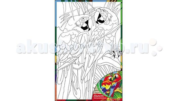 Раскраска Рыжий кот Холст с красками Попугаи 20х30 смХолст с красками Попугаи 20х30 смРаскраска Рыжий кот Холст с красками Попугаи 20х30 см. Перед Вами замечательные наборы для создания уникального шедевра изобразительного искусства.   Создание картин на специально подготовленной рабочей поверхности – это уникальная техника, позволяющая делать Ваши шедевры более яркими и реалистичными. Просто нанесите мазки на уже готовый эскиз и оживите картину! Готовые изделия могут стать украшением интерьера или прекрасным подарком близким и друзьям.  В наборе: 1 холст с эскизом, 7 акриловых красок по 3,5 мл, 1 кисточка.<br>