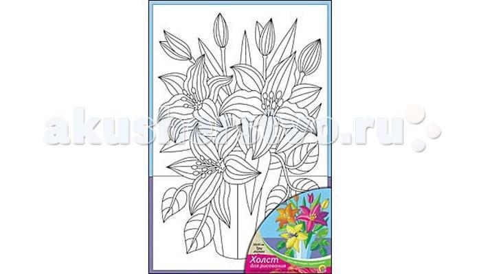 Раскраска Рыжий кот Холст с красками Три лилии 20х30 смХолст с красками Три лилии 20х30 смРаскраска Рыжий кот Холст с красками Три лилии 20х30 см. Перед Вами замечательные наборы для создания уникального шедевра изобразительного искусства.   Создание картин на специально подготовленной рабочей поверхности – это уникальная техника, позволяющая делать Ваши шедевры более яркими и реалистичными. Просто нанесите мазки на уже готовый эскиз и оживите картину! Готовые изделия могут стать украшением интерьера или прекрасным подарком близким и друзьям.  В наборе: 1 холст с эскизом, 7 акриловых красок по 3,5 мл, 1 кисточка.<br>