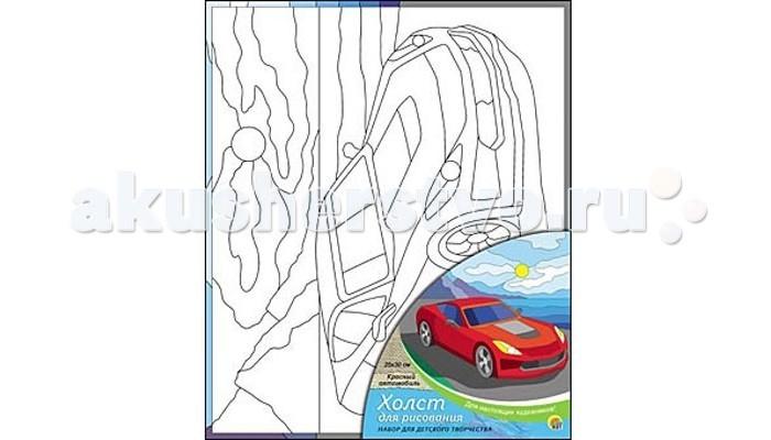 Раскраска Рыжий кот Холст с красками Красный автомобиль 25х30 смХолст с красками Красный автомобиль 25х30 смРаскраска Рыжий кот Холст с красками Красный автомобиль 25х30 см. Перед Вами замечательные наборы для создания уникального шедевра изобразительного искусства.   Создание картин на специально подготовленной рабочей поверхности – это уникальная техника, позволяющая делать Ваши шедевры более яркими и реалистичными. Просто нанесите мазки на уже готовый эскиз и оживите картину! Готовые изделия могут стать украшением интерьера или прекрасным подарком близким и друзьям.  В наборе: 1 холст с эскизом, 7 акриловых красок по 3,5 мл, 1 кисточка.<br>