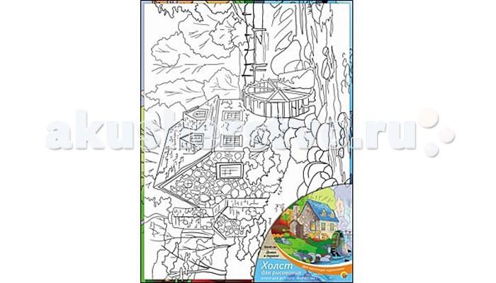 Раскраска Рыжий кот Холст с красками Домик в деревне 30х40 смХолст с красками Домик в деревне 30х40 смРаскраска Рыжий кот Холст с красками Домик в деревне 30х40 см. Перед Вами замечательные наборы для создания уникального шедевра изобразительного искусства.   Создание картин на специально подготовленной рабочей поверхности – это уникальная техника, позволяющая делать Ваши шедевры более яркими и реалистичными. Просто нанесите мазки на уже готовый эскиз и оживите картину! Готовые изделия могут стать украшением интерьера или прекрасным подарком близким и друзьям.  В наборе: 1 холст с эскизом, 16 акриловых красок по 3,5 мл, 1 кисточка.<br>