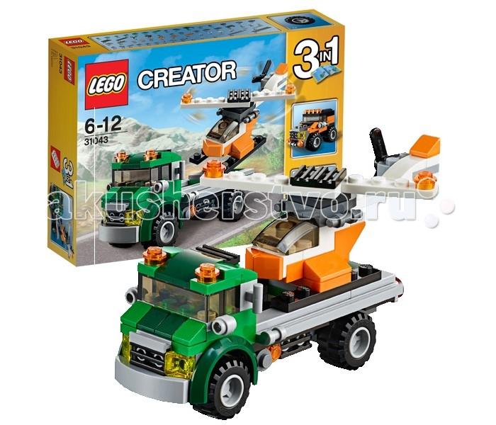 Конструктор Lego Creator 31043 Лего Криэйтор Перевозчик вертолета
