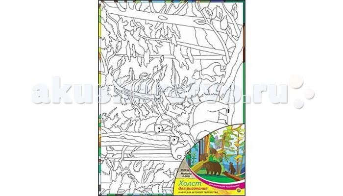 Раскраска Рыжий кот Холст с красками Медведи в лесу 30х40 смХолст с красками Медведи в лесу 30х40 смРаскраска Рыжий кот Холст с красками Медведи в лесу 30х40 см. Перед Вами замечательные наборы для создания уникального шедевра изобразительного искусства.   Создание картин на специально подготовленной рабочей поверхности – это уникальная техника, позволяющая делать Ваши шедевры более яркими и реалистичными. Просто нанесите мазки на уже готовый эскиз и оживите картину! Готовые изделия могут стать украшением интерьера или прекрасным подарком близким и друзьям.  В наборе: 1 холст с эскизом, 16 акриловых красок по 3,5 мл, 1 кисточка.<br>