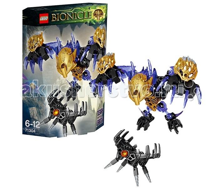 Конструктор Lego Bionicle 71304 Лего Бионикл Терак, Тотемное животное ЗемлиBionicle 71304 Лего Бионикл Терак, Тотемное животное ЗемлиКонструктор Lego Bionicle 71304 Лего Бионикл Терак, Тотемное животное Земли  Конструктор Lego Bionicle собирается из 74 деталей.  Терак - тотемное животное Земли, внешне напоминает ворона. Он является самым сильным тотемным животным Окото, потому что объединяет в себе все стихии. При объединении с Тоа, Терак наделяет их невероятной выносливостью, энергией и стремлением. Тотемное животное легко сочетается с любыми героями Бионикл 2016.  У Терака, как и у других тотемных животных, двухцветная маска. Также, у него огромные крылья-лапы с острыми когтями и мощные ноги. Охотник Уксар установил Капкан Тьмы в недрах Земли для поимки Терака. Но это непросто - это тотемное животное невероятно сильное, а его кристальные когти способны уничтожить любого врага!  В комплекте - фигурка тотемного животного и Капкан Тьмы У тотемного животного подвижные конечности; капкан может открываться и закрываться Тотемное животное можно объединить с любым биониклом Тоа   Количество деталей: 74 шт.<br>
