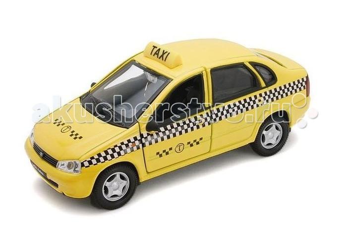 Autotime Машина Лада Калина ТаксиМашина Лада Калина ТаксиМашина Autotime Лада Калина Такси — это коллекционная модель, которая является копией настоящего автомобиля в масштабе 1:34/39.  Она изготовлена из металла с элементами пластика.   У машинки открываются двери, двигаются колеса.<br>