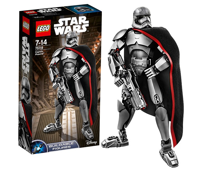 Конструктор Lego Star Wars 75118 Лего Звездные Войны Капитан Фазма