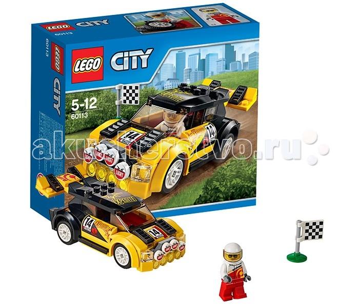 Конструктор Lego City 60113 Лего Город Гоночный автомобиль