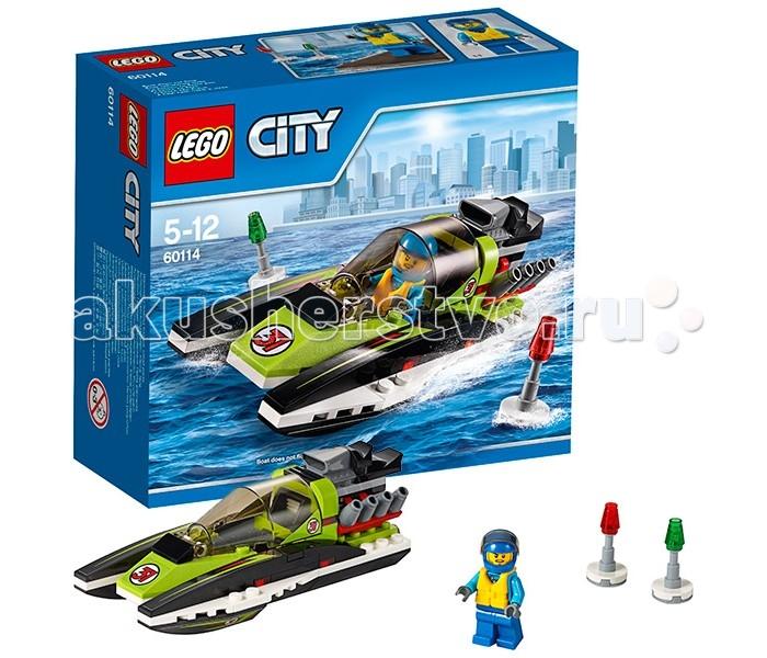 Конструктор Lego City 60114 Лего Город Гоночный катер