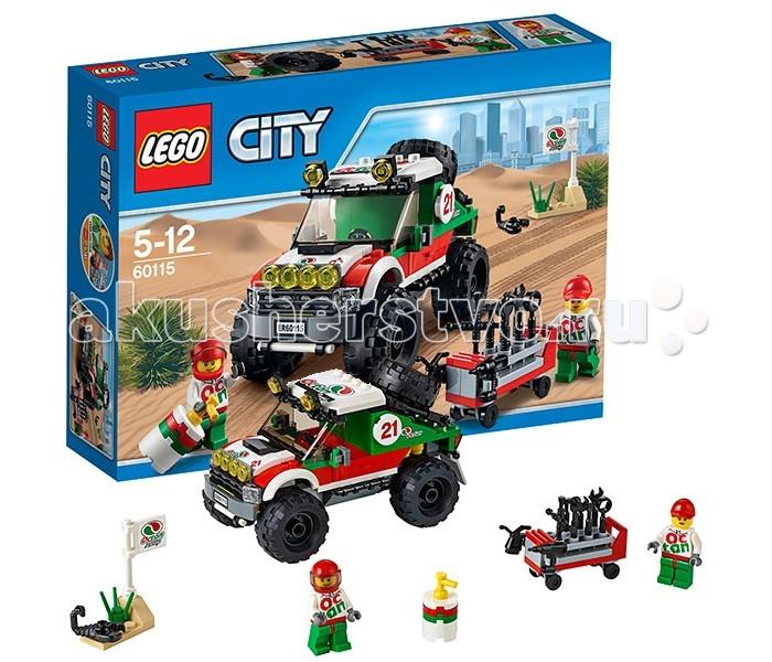 Конструктор Lego City 60115 Лего Город Внедорожник 4x4