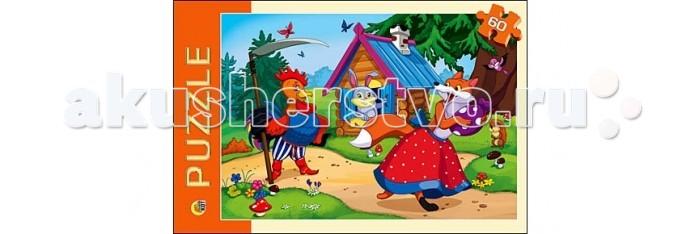 Рыжий кот Пазлы Заюшкина избушка (60 элементов)Пазлы Заюшкина избушка (60 элементов)Рыжий кот Пазлы Заюшкина избушка (60 элементов). Популярная занимательная игра, которая развивает мелкую моторику рук, память, внимание посредством собирания яркой и красочной картинки, состоящей из мелких деталей. Огромное разнообразие изображений никого не оставит равнодушным!<br>