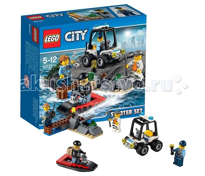 Конструктор Lego City 60127 Лего Город Набор для начинающих Остров-тюрьма