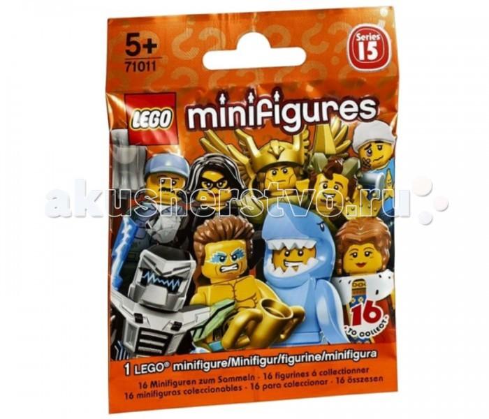 Конструктор Lego Minifigures 71011 Лего Минифигурки серия 15