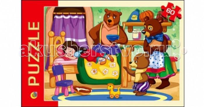 Рыжий кот Пазлы Три медведя (60 элементов)