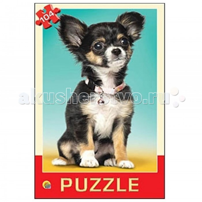 Рыжий кот Пазлы Самый любимый щенок (104 элемента)Пазлы Самый любимый щенок (104 элемента)Рыжий кот Пазлы Самый любимый щенок (104 элемента). Популярная занимательная игра, которая развивает мелкую моторику рук, память, внимание посредством собирания яркой и красочной картинки, состоящей из мелких деталей. Огромное разнообразие изображений никого не оставит равнодушным!<br>