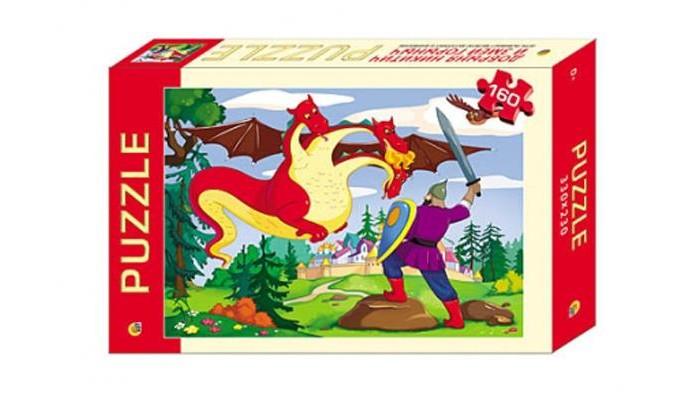 Рыжий кот Пазлы Добрыня Никитич и Змей Горыныч (160 элементов)Пазлы Добрыня Никитич и Змей Горыныч (160 элементов)Рыжий кот Пазлы Добрыня Никитич и Змей Горыныч (160 элементов). Популярная занимательная игра, которая развивает мелкую моторику рук, память, внимание посредством собирания яркой и красочной картинки, состоящей из мелких деталей. Огромное разнообразие изображений никого не оставит равнодушным!<br>