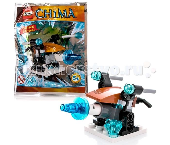 Конструктор Lego Legends Of Chima 391411 Лего Легенды Чимы Артиллерия ледяного охотника