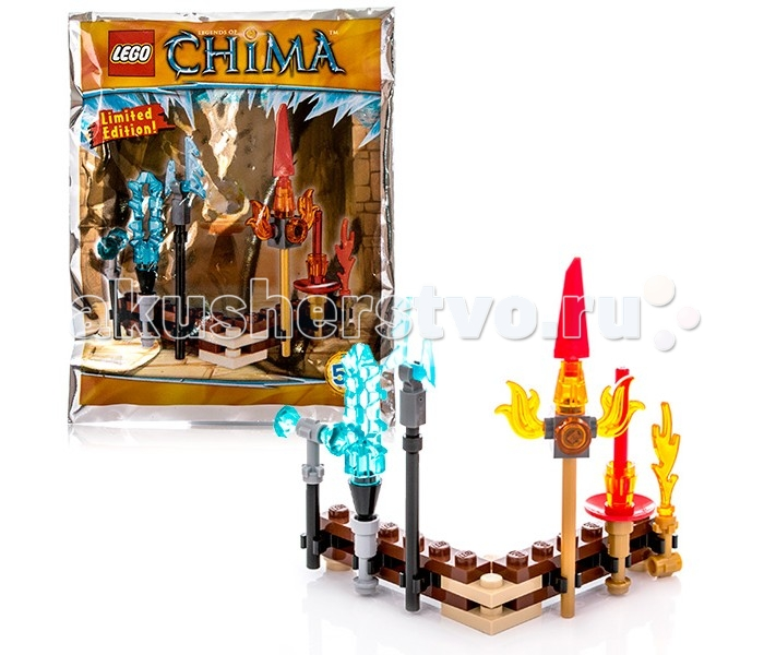 Конструктор Lego Legends Of Chima 391504 Лего Легенды Чимы Набор оружия