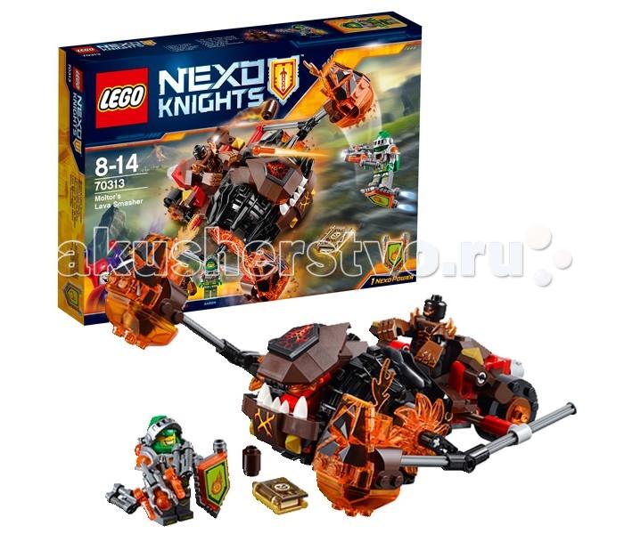 Конструктор Lego Nexo Knights 70313 Лего Нексо Лавинный разрушитель Молтора