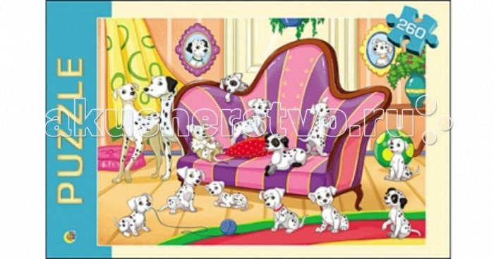 Рыжий кот Пазлы Любимые щенки (260 элементов)Пазлы Любимые щенки (260 элементов)Рыжий кот Пазлы Любимые щенки (260 элементов). Популярная занимательная игра, которая развивает мелкую моторику рук, память, внимание посредством собирания яркой и красочной картинки, состоящей из мелких деталей. Огромное разнообразие изображений никого не оставит равнодушным!<br>