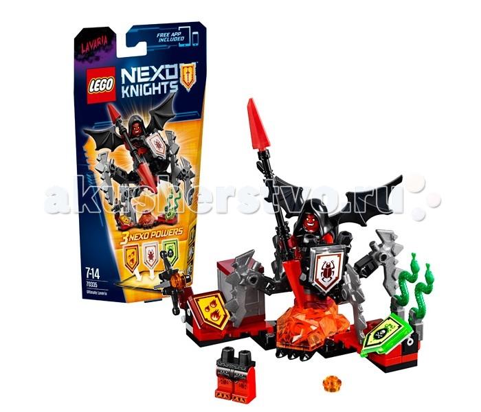 Конструктор Lego Nexo Knights 70335 Лего Нексо Лавария Абсолютная сила