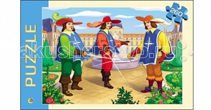 Рыжий кот Пазлы Три мушкетера (260 элементов)Пазлы Три мушкетера (260 элементов)Рыжий кот Пазлы Три мушкетера (260 элементов). Популярная занимательная игра, которая развивает мелкую моторику рук, память, внимание посредством собирания яркой и красочной картинки, состоящей из мелких деталей. Огромное разнообразие изображений никого не оставит равнодушным!<br>