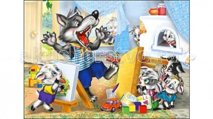 Рыжий кот Пазлы Изолон Волк и семеро козлят формат А4 (24 элемента)Пазлы Изолон Волк и семеро козлят формат А4 (24 элемента)Рыжий кот Пазлы Изолон Волк и семеро козлят формат А4 (24 элемента). Популярная занимательная игра, которая развивает мелкую моторику рук, память, внимание посредством собирания яркой и красочной картинки, состоящей из мелких деталей. Огромное разнообразие изображений никого не оставит равнодушным!<br>