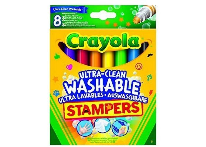 Фломастеры Crayola Набор мини-штампов Животные 8 шт.Набор мини-штампов Животные 8 шт.Набор мини-штампов подарит ребенку возможность украсить интересными рисунками одежду, стены комнаты.   В комплект входят 8 различных штампов, оставляющих различные оттиски: лапа, усы, звезда, молния и другие.   Оттиски легко отмываются с рук и других поверхностей.   Используя эти штампы, ребенок разовьет фантазию и воображение, творческое мышление.<br>